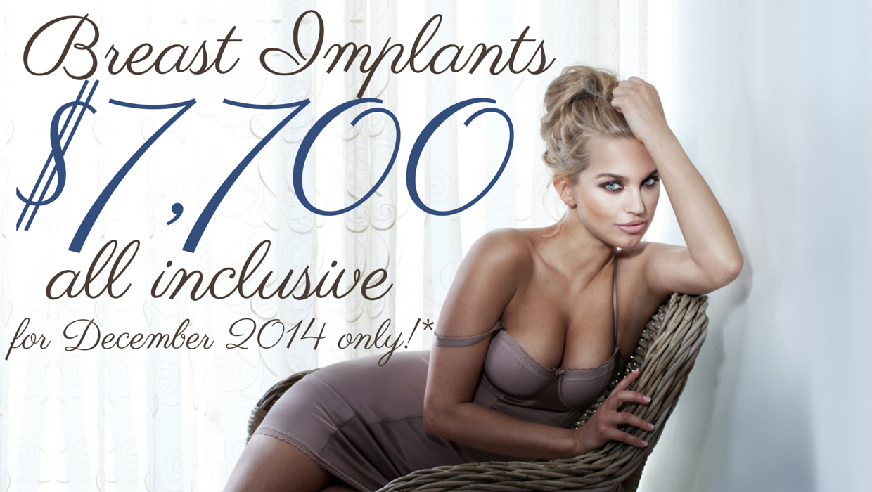 Special offer - $7700 breast implants December Brisbane and Gold Coast